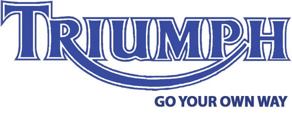 Triumph logo slogan 580